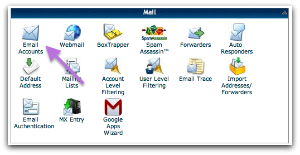 HostGator cPanel Email Accounts